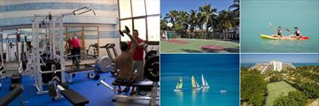 Gym, Sport Facilities, Kayaking, Tennis and Sailing at Melia Varadero
