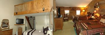 Merrill Farm Inn & Resort, Loft Room and Loft Room with Two Queen Beds