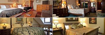 Mirror Lake Inn Resort and Spa, (clockwise from top left): Main House Marcy Classic Room, Ausable, Colden and Saranac Classic Suites