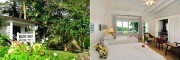 Montpelier Plantation Resort, Nevis, Premier Room Exterior and Premier Room with Two Double Beds