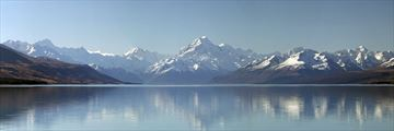 Panorama of Mount Cook & Lake Pukaki