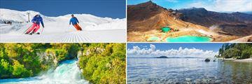 Mt Ruapehu, Tongariro, Huka Falls & Lake Taupo