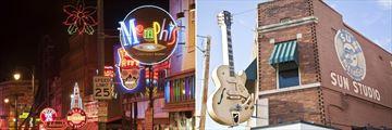 Beale Street and Sun Studio in Memphis