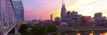 Nashville skyline, Tennessee