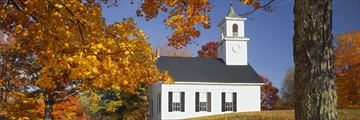Country church in New Hampshire