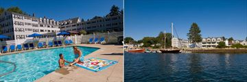 Pool and Marina at Nonantum Hotel and Resort