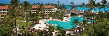 Panoramic View of The Pool at Now Larimar Punta Cana