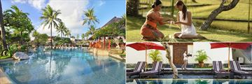 Pool Activities and Spa at Nusa Dua Beach Hotel