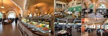 Buffet Dinners and a Selection of Restaurants at Occidental Caribe