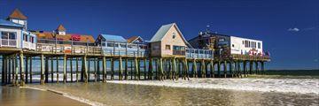 Old Orchard Beach pier, Maine