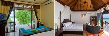Olhuveli Beach & Spa Resort, Deluxe Room and Jacuzzi Water Villa