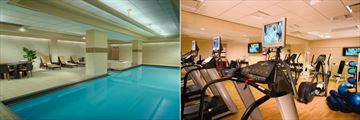 Pool and Fitness Centre at Omni Chicago Hotel