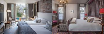 Superior Room and Deluxe Room at Oude Werf