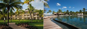Outrigger Mauritius Beach Resort, Hotel Gardens and Pool