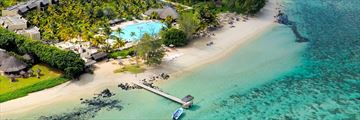 Outrigger Mauritius Beach Resort, Aerial View of Resort and Beach
