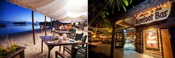 Beachfront Dining and Barefoot Bar at Pacific Resort Rarotonga