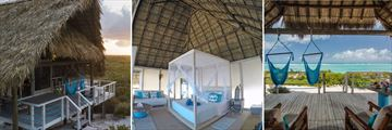 Luxury Palapa Accommodation, Anegada Beach Club