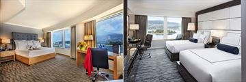 Pan Pacific, Premier Room and Pacific Club Harbour Room