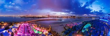 Panoramic View of Rixos the Palm Dubai