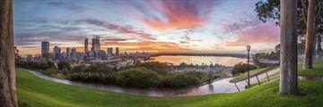 Panoramic view of Perth