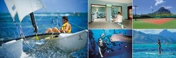 Paradis Beachcomber Golf Resort & Spa, Hobby Cat, Fitness Centre, Tennis Courts, Standup Paddle and Scuba Diving