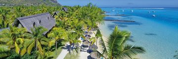 Paradis Beachcomber Golf Resort & Spa, Aerial View of Resort