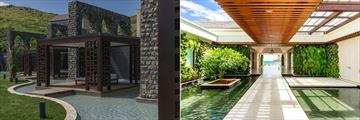 Park Hyatt St. Kitts, Pavilion and Welcome Walkway