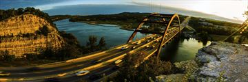 Pennybacker Bridge view, Austin, Texas