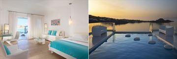 Private Pool Suite and Galaxy Pool Villa at Petasos Beach Resort