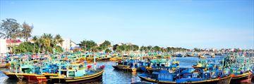 Phan Thiet fishing boats