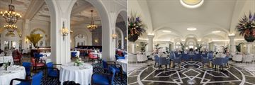 The Phoenix Restaurant and Palm Court Lounge at Phoenicia Malta