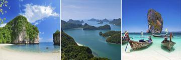 Phuket's exotic landscapes