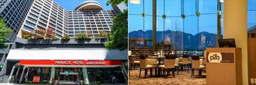 Pinnacle Hotel Vancouver Harbourfront, Hotel Entrance and p2b Bistro & Bar