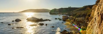 Pirates Cove, tucked away along Avila Beach in San Luis Obispo