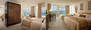 Playacar Palace, Honeymoon Suite and Deluxe Ocean View