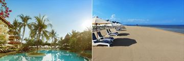 Pool and Beach at Grand Mirage Resort and Thalasso