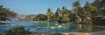 Rayavadee Krabi, Pool and Sea