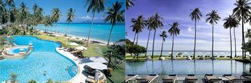 The pools at Phi Phi Island Beach Resort