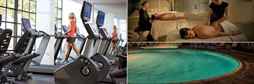 Fitness Centre, Spa Massage Treatments and Pool at Portola Hotel & Spa