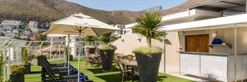 Protea Hotel Sea Point, Rooftop Terrace and Views