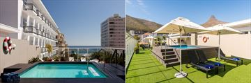 Protea Hotel Sea Point, Rooftop Terrace and Pool