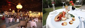 Puri Mas Boutique Resort & Spa, Ballroom Restaurant and Seafood Platter