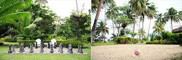Qamea Resort & Spa Fiji, Giant Chess and Volleyball