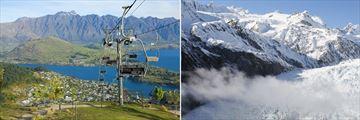 Queenstown & Franz Josef Glacier
