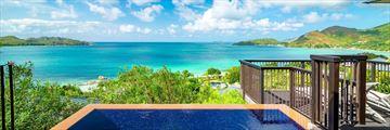 Raffles Seychelles, View From Villa Pool