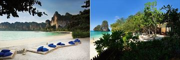 Rayavadee Krabi, Beach and Pool