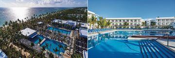 Riu Bambu, Aerial View of Resort and Pools