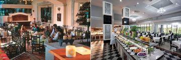 Riu Caribe, Maria Margarita Mexican Restaurant and Shangri-La Asian Restaurant