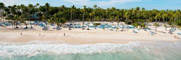 Riu Naiboa, Resort from Beach