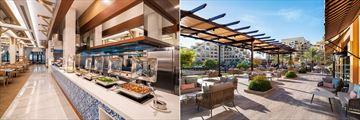Seven Heights and Aisha Terrace at Rixos Bab Al Bahr